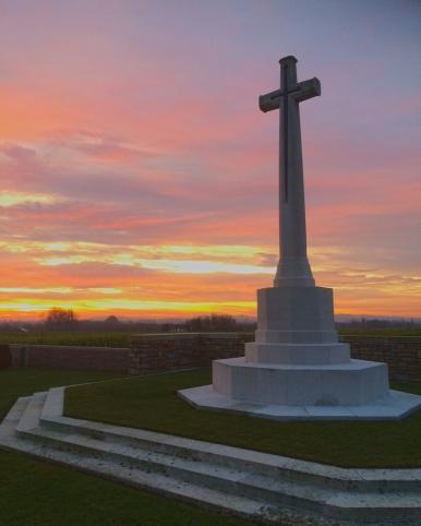 Nine Elms - Cross of Sacrifice