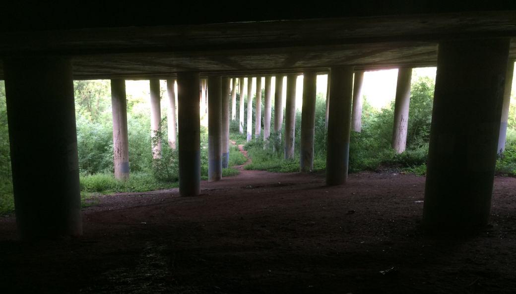 M4 motorway underpass
