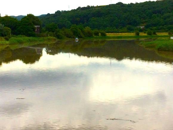 river from Caerleon bridge