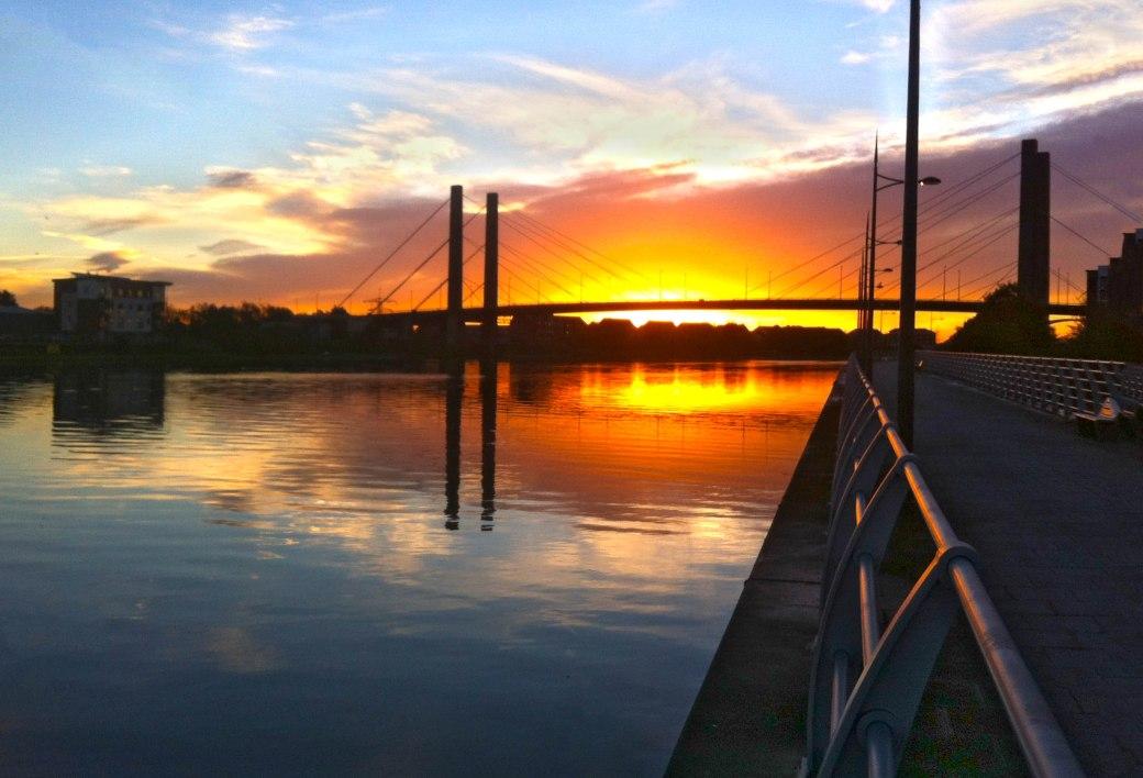 GSB at sunrise