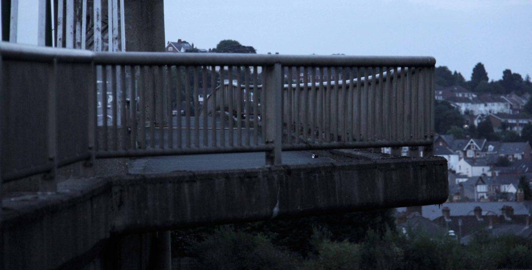 GSB walkway overhang wider