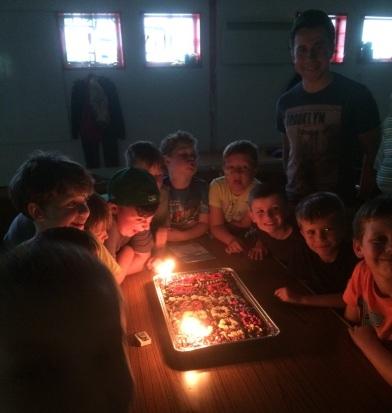 25th Malpas Cubs - 100 years cake