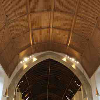 St Woolos - int 4 new roof