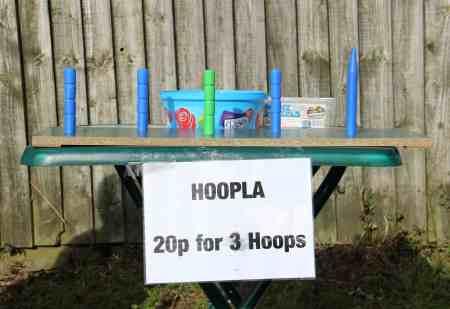 Malpas 25th Scouts Fete 2017 - Hoopla stall