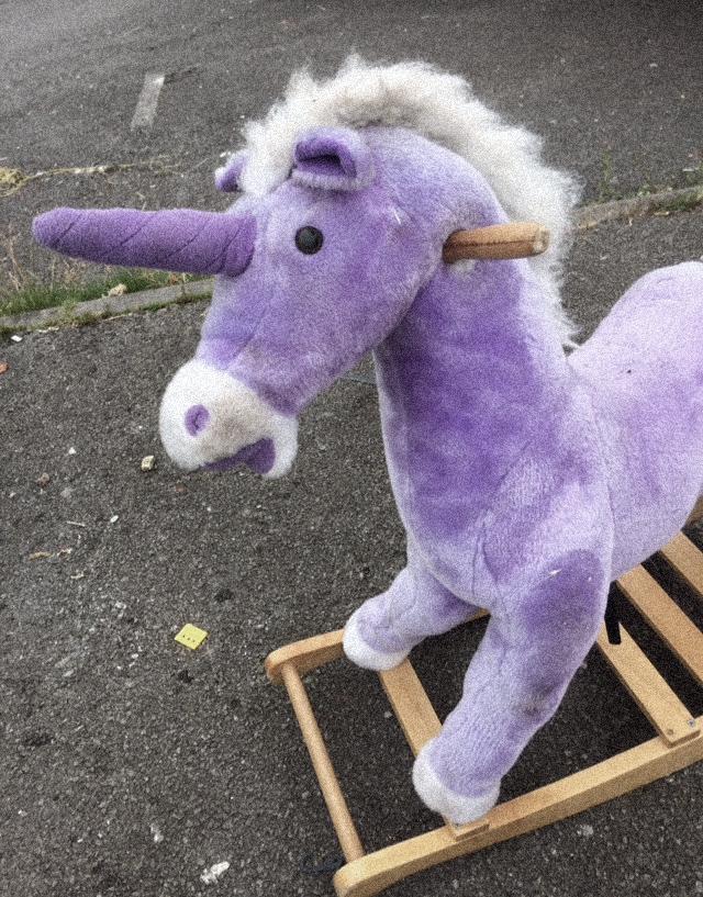 Rubbish - rocking horse