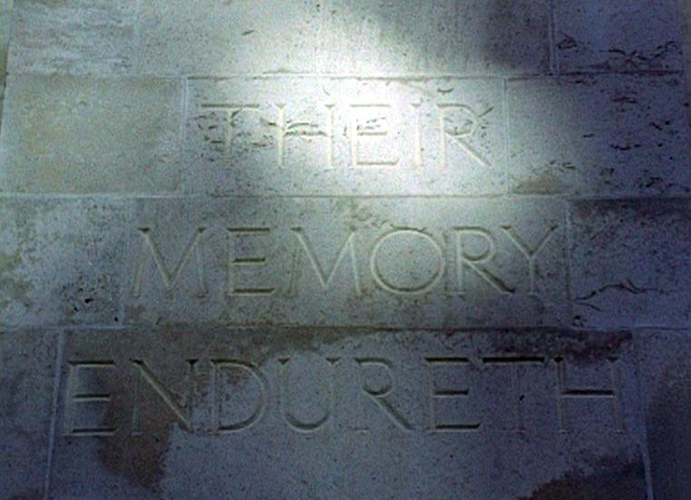 Newport Cenotaph 16mm film still