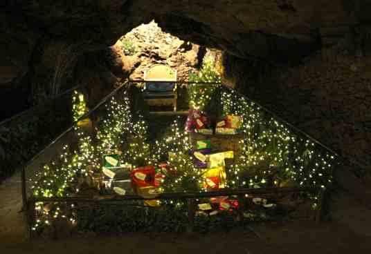 Caves - Santas grotto