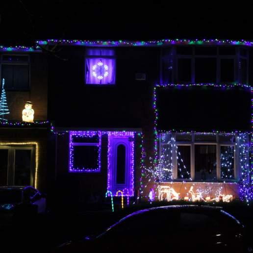Christmas house lights 1