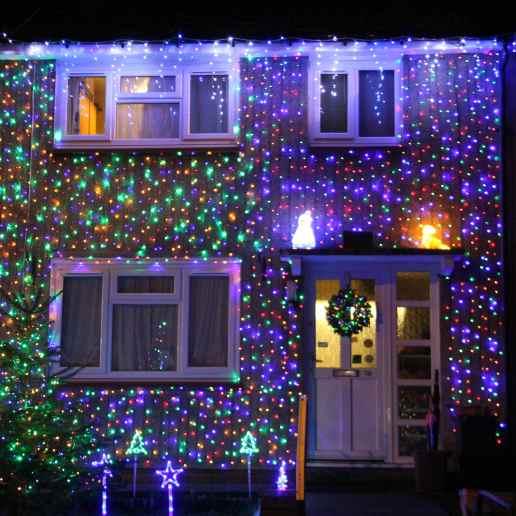Christmas house lights 2