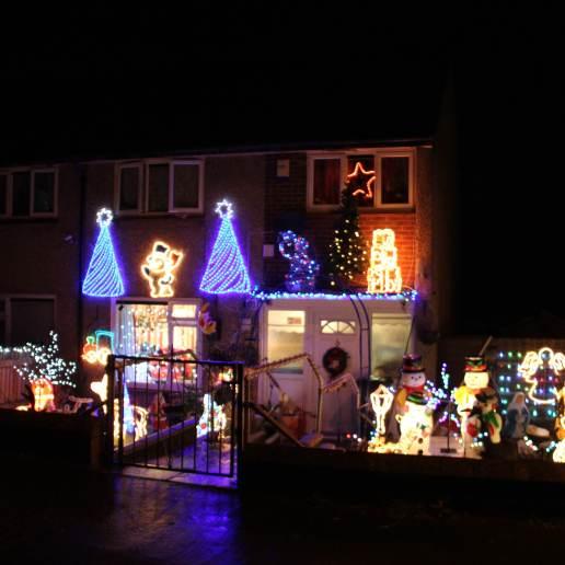Christmas house lights 3