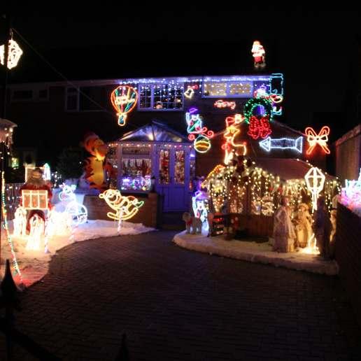 Christmas house lights 4