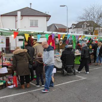 Maindee Xmas Market - car park right