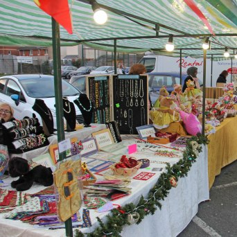 Maindee Xmas Market - jewellery stall
