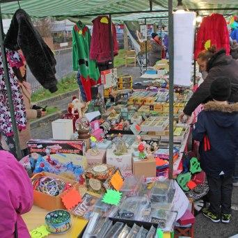 Maindee Xmas Market - stall