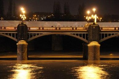 Newport Town Bridge - arch