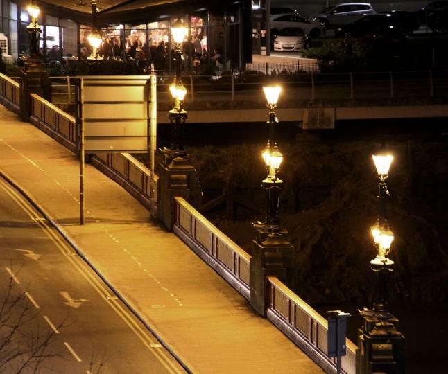 Newport Town Bridge - from town 2
