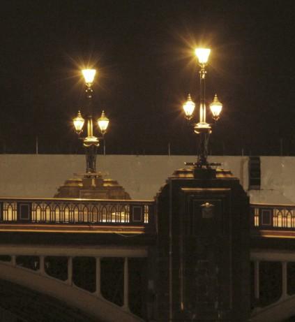 Newport Town Bridge - lighting