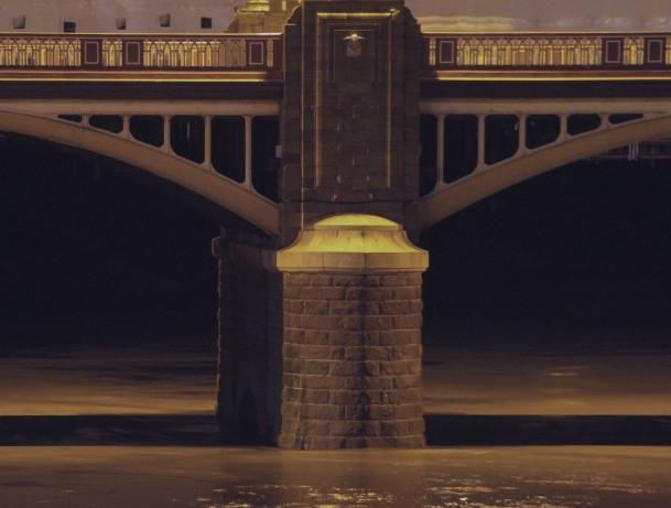 Newport Town Bridge - support