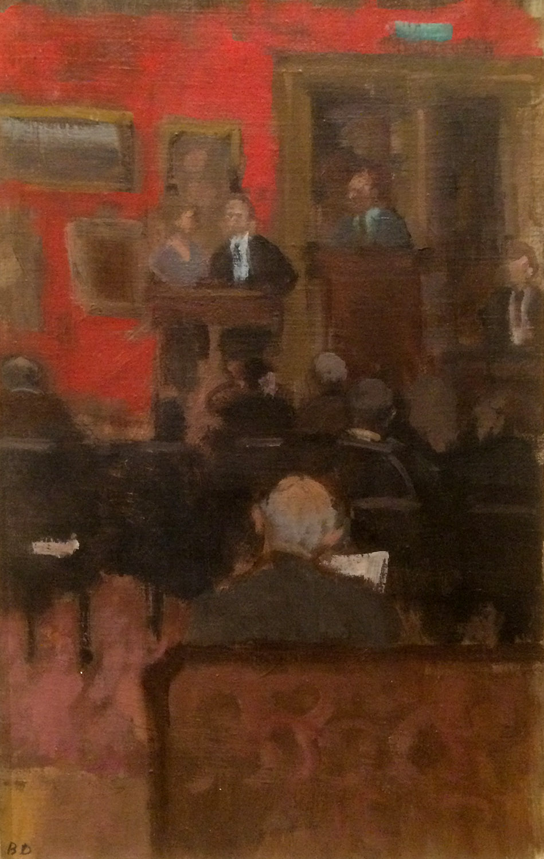 D - Bernard Dunstan R.A. - Sale at Christie's