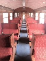 P and B Railway - carriage seating