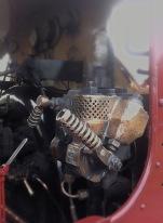 P and B Railway - engine cab detail