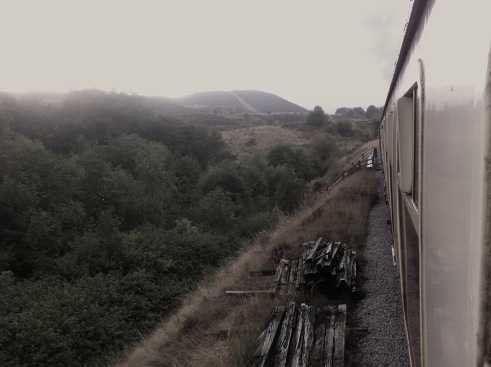 P and B Railway - view from window 1
