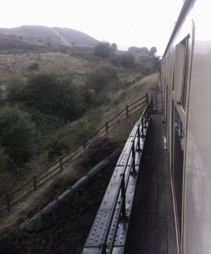 P and B Railway - view from window 2