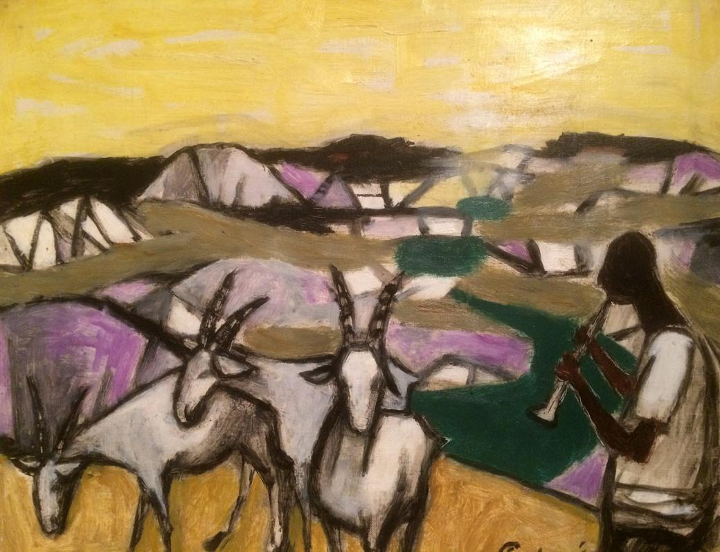 T - Julian Tevelyan R.A. - Goat Herd