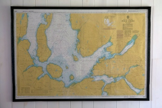 Arnish Cottage Inner Sound map