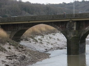 caerleon bridge - arch