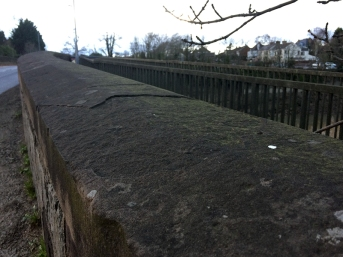 caerleon bridge - sidewall top