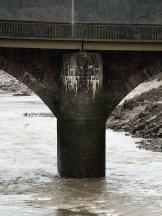 caerleon bridge - support column