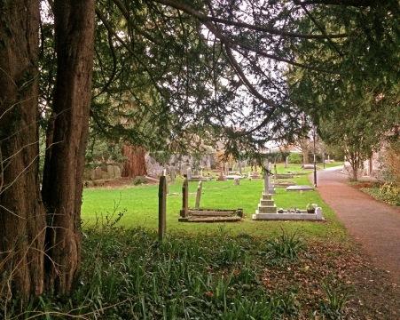 St Cadoc's Church - graveyard