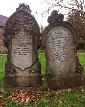 St Cadoc's Church - headstone pair