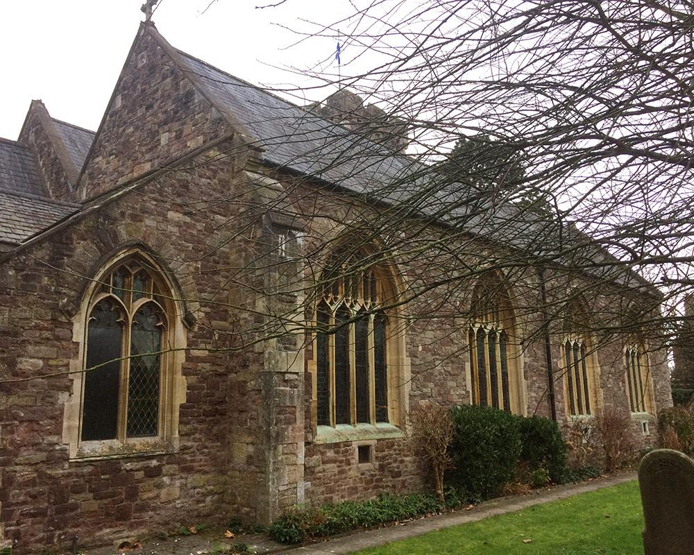 St Cadoc's Church - north east
